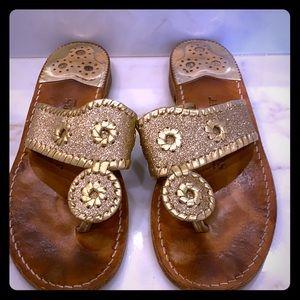 Glitter Jack Rogers Sandals